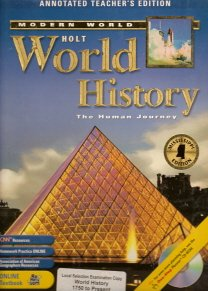 9780030401183: Holt World History: The Human Journey (Correlated to Mississippi Social Studies Framework, World History: 1750 to the Present)