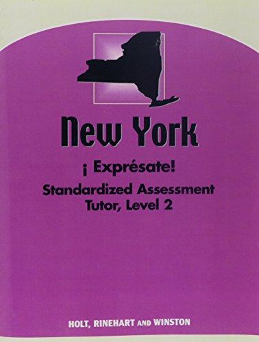 9780030401428: ?Expr?sate! New York: Standard Assessment Tutor Level 2