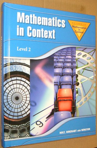 9780030403774: Holt Math in Context: Level 2 Student Edition Grade 7 2006