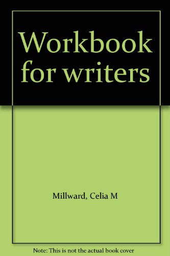 9780030407215: Workbook for writers