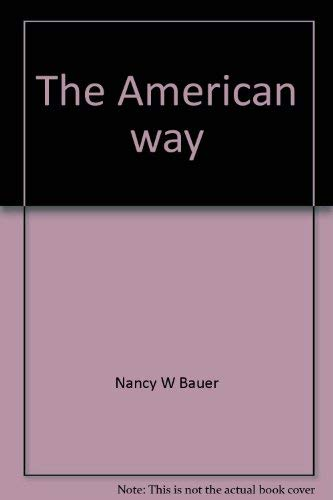 9780030407468: The American way