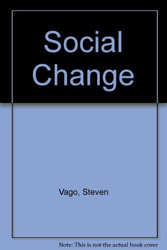9780030407710: Social change