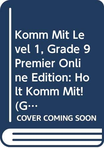 9780030411939: Komm mit!: Premier Online Edition with CD-ROM (6-year subscription) Level 1 2006