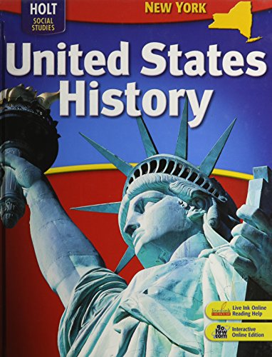 9780030411991: Holt United States History New York: Student Edition Grades 6-9 2007