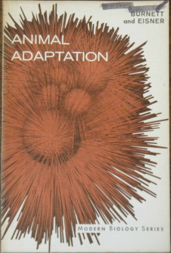 9780030412905: Animal Adaptation (Modern Biology S.)