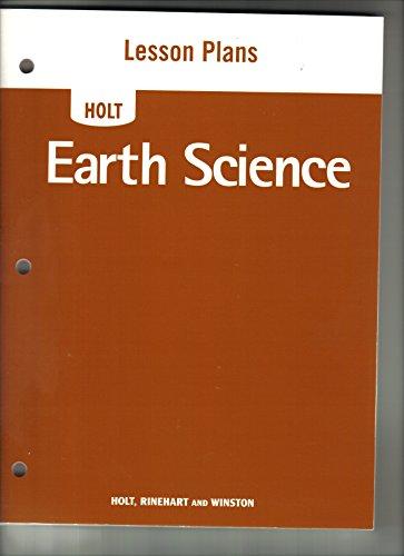 9780030412974: Lesson Plan Bklt Earth Sci 2006