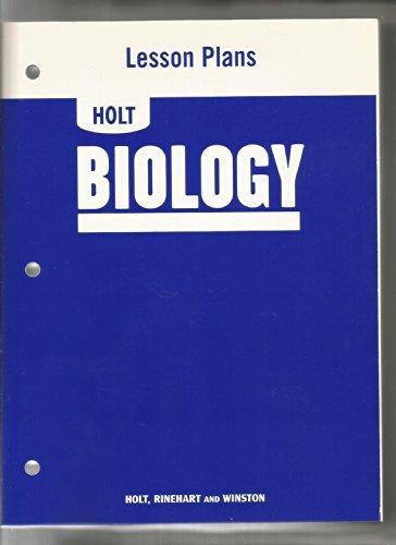 9780030413148: Lesson Plans Holt Biol 2006