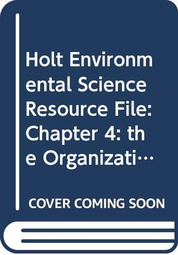 Ch Res File #4 Env Sci 2006: HOLT, RINEHART AND