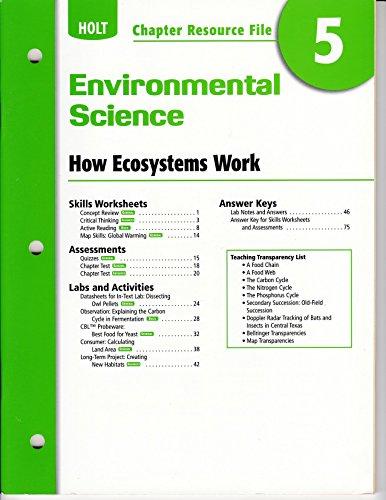 9780030414794 Ch Res File 5 Env Sci 2006 Holt