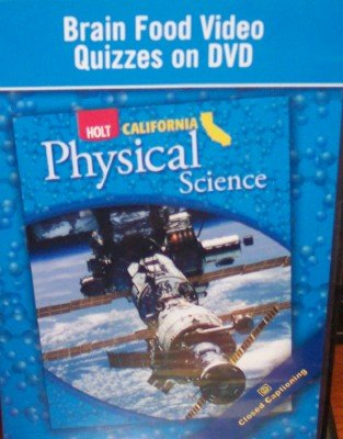 9780030416149: Brain Food Video Quizzes on DVD (California Physical Science)