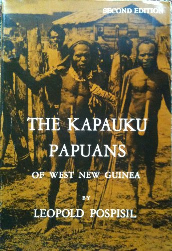 9780030416217: The Kapauku Papuans of West New Guinea