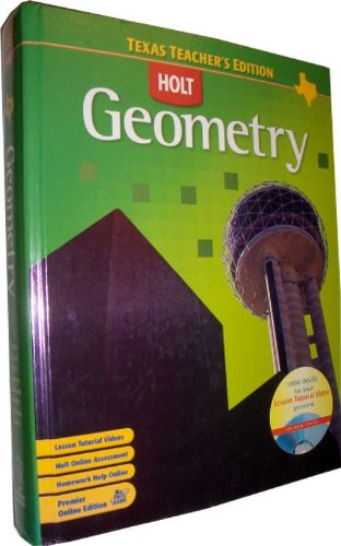 9780030416637: Holt Geometry, Texas Teacher's Edition