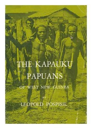 9780030418150: The Kapauku Papuans of West New Guinea (Case Studies in Cultural Anthropology)
