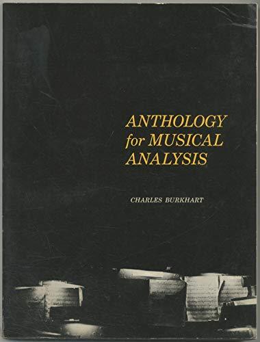 9780030418402: Anthology of Musical Analysis