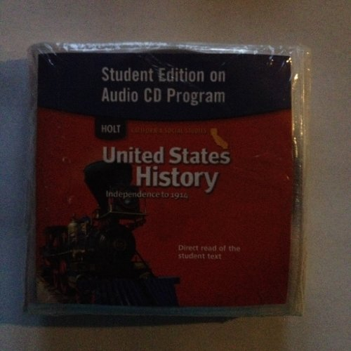 9780030418594: Holt United States History California: Student Edition on Audio CD Grades 6-8 Beginnings to 1914