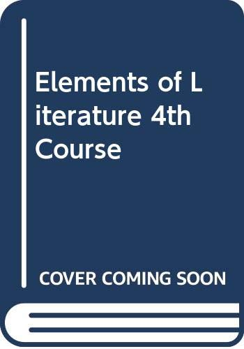 9780030419829: Elements of Literature 4th Course
