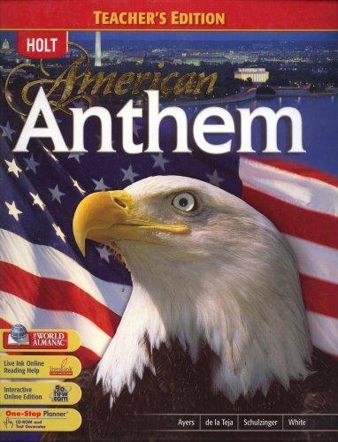 American Anthem - Teacher's Edition