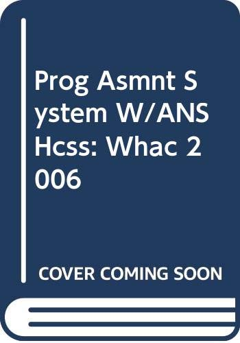 9780030420849: Progress Assessment Support System with Answer Key (Holt California Social Studies, World History: Ancient Civilizations)
