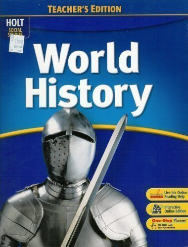 9780030422447: World History Teacher's Edition