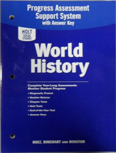 9780030422492: World History: Progress Assessment