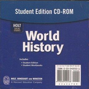 9780030422539: Holt World History: Student's Edition CD-ROM Grades 6-8 2006