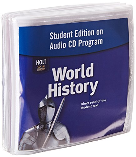 9780030422676: Student Edition on Audio CD Program World History Direct read of the student text.
