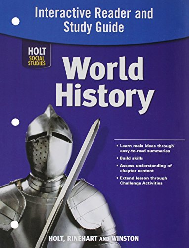 9780030423147: World History Full Survey: Interactive Reader and Study Guide