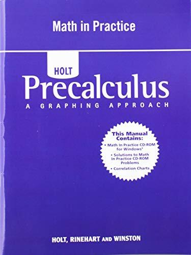 9780030423932: Math in Practice (Holt Precalculus)