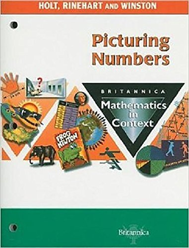 9780030424021: Holt Math in Context: Picturing Numbers Grade 6