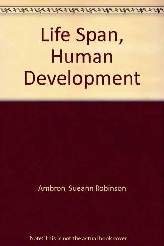 9780030424069: Life Span, Human Development