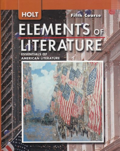 9780030424182: Holt Elements of Literature: Essentials of American Literature, 5th Course