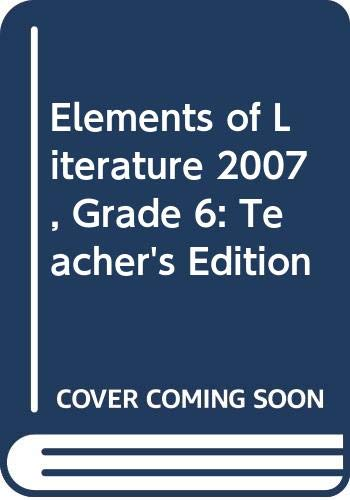 9780030424229: Elements of Literature: Introductory Course, Annotated Teacher's Edition