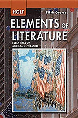 9780030424298: Holt Elements of Literature, 5th Course: Essentials of American Literature, Teacher's Edition