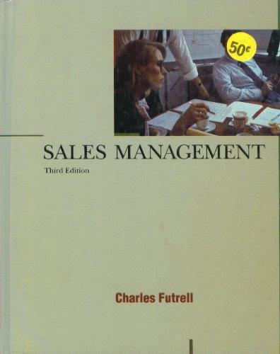 9780030424670: Sales Management