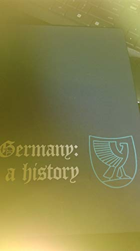 9780030426001: Germany a History