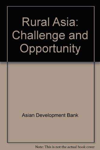 9780030426018: Rural Asia: Challenge and Opportunity