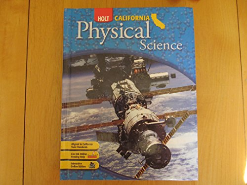 9780030426599: Holt Science & Technology California: Student Edition Grade 8 Physical Science 2007