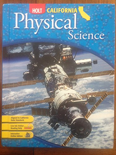 9780030426599: Holt Science & Technology: Student Edition Grade 8 Physical Science 2007