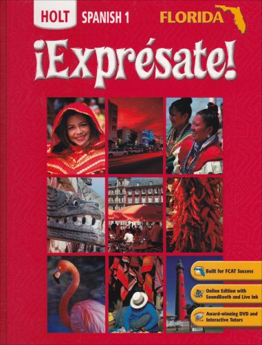 9780030426674: Expresate: Holt Spanish 1 (Florida Edition)
