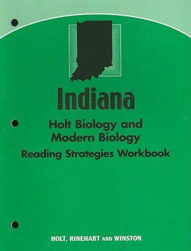 9780030426889: Holt Biology Indiana: Reading Strategy Workbook Holt/Modern Biology 2006