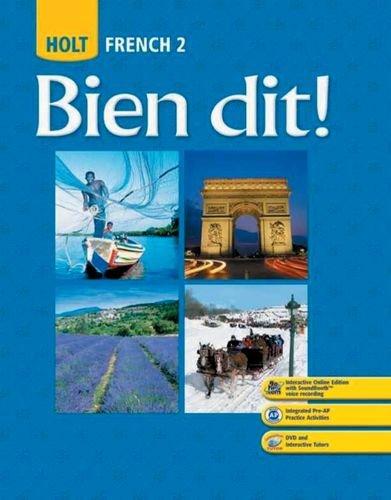 Bien Dit!: French 2: John Demado, Severine