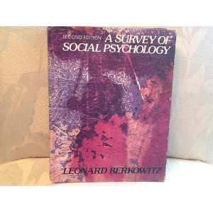 9780030427312: Survey of Social Psychology