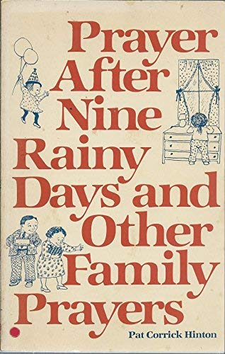 9780030427817: Prayer after nine rainy days and other family prayers