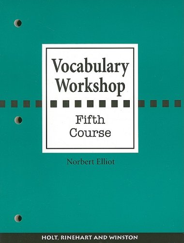 9780030430220: Vocabulary Workshop, Fifth Course