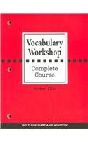 9780030430237: Vocabulary Workshop: Complete Course