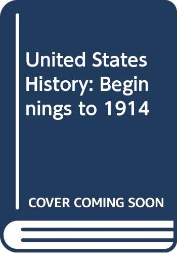 9780030431647: United States History: Beginnings to 1914