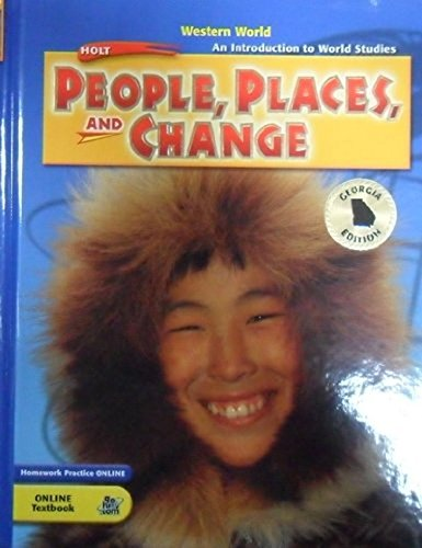 9780030432224: An Introduction to World Studies; People,Places and Change; Georgia Edition