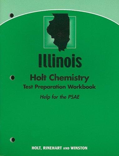 9780030432644: Modern Chemistry Illinois: Holt Chemistry Test Preparation Workbook (Help for the PSAE)