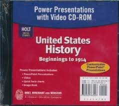 9780030435898: Power Presentations with Video CD-ROM (Holt Social Studies: United States History)