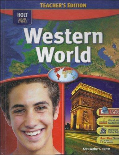 9780030435997: Western World:Holt Social Studies, Teacher's Edition